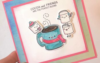 SugarPea Designs Mugs & Kisses Christmas (ish) Card