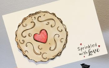 Papermania Jammy Dodger Card