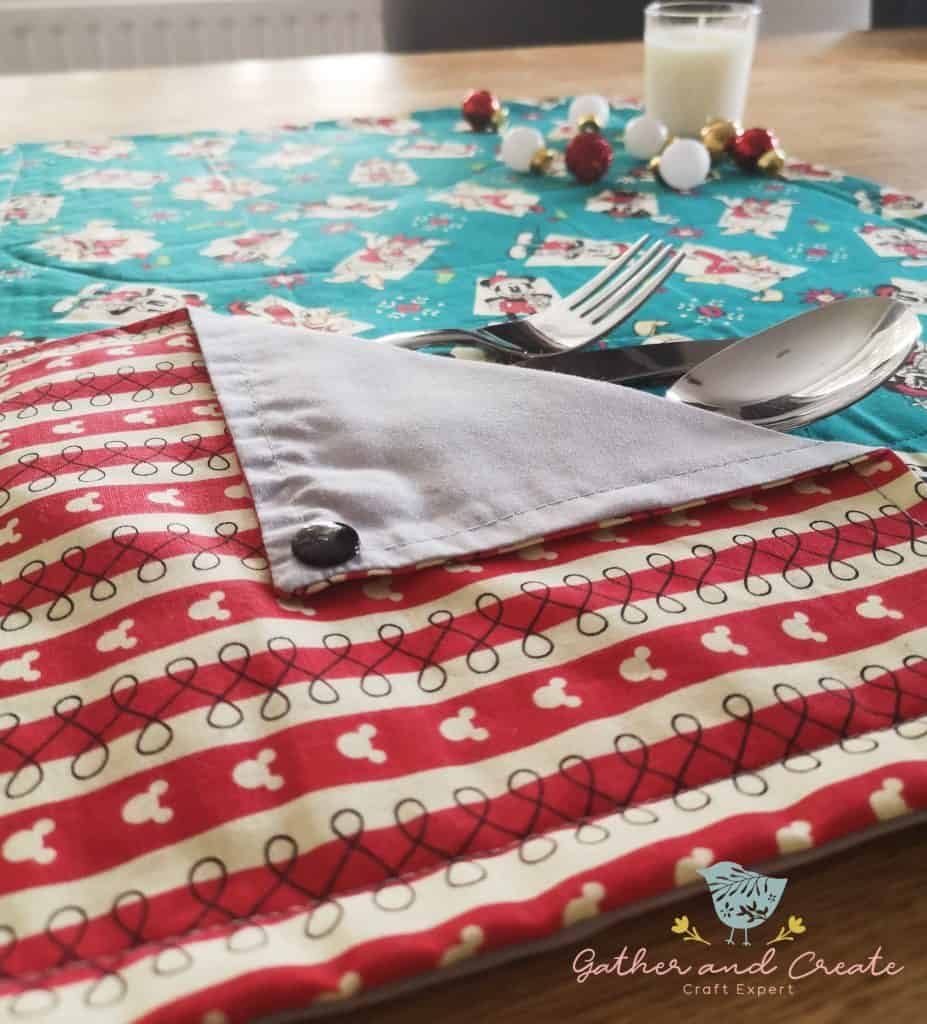 Mickey Mouse Disney Christmas placemat