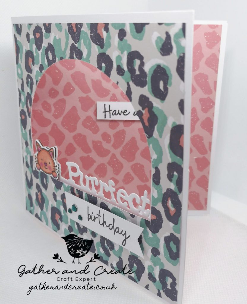Crafters Companion Gemini Peek-A-Boo stamps and dies