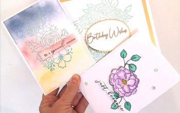 3 ways with FREE Pinkfresh Studio Stamps