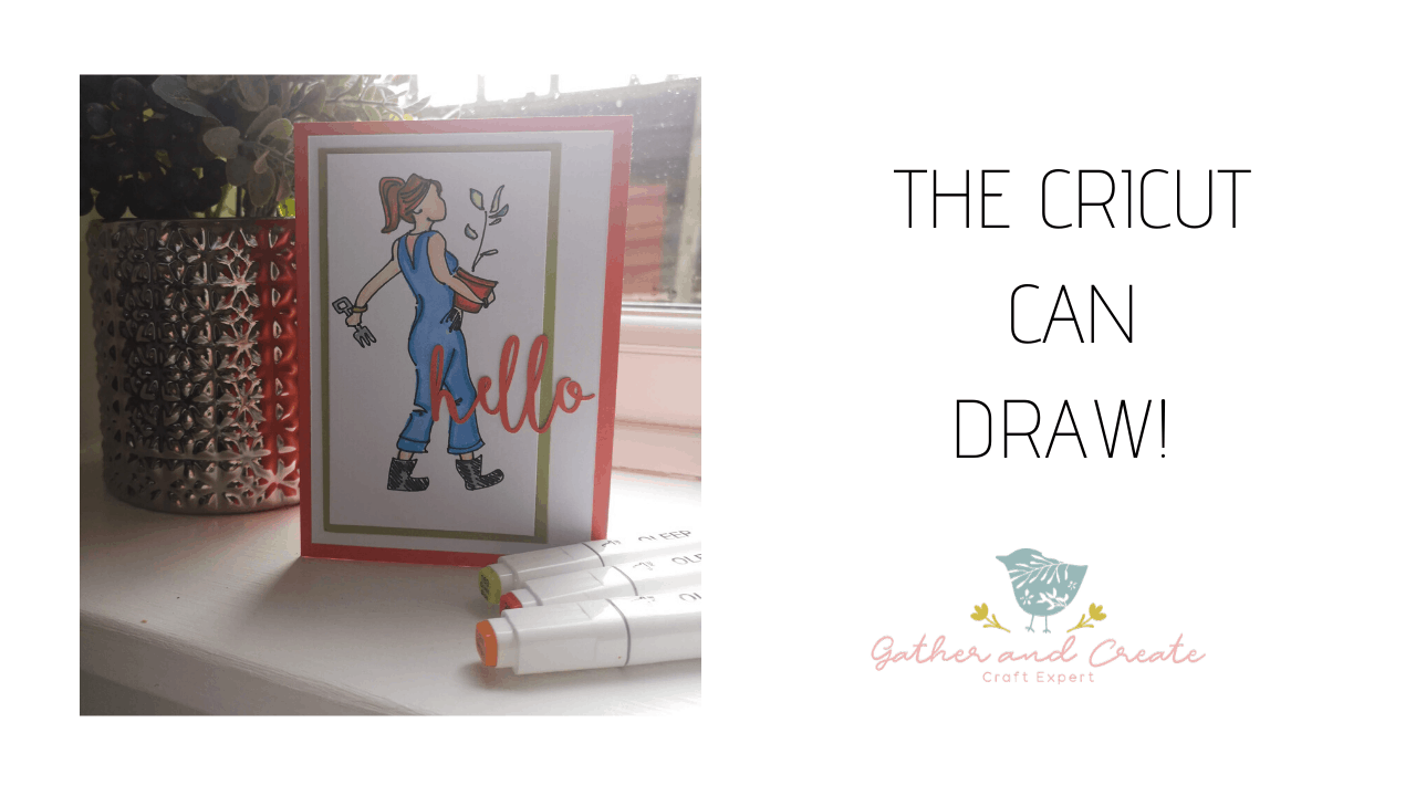 Drawing with the Cricut Maker – tutorial!