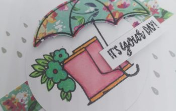Stampin' Up! Under my umbrella cards