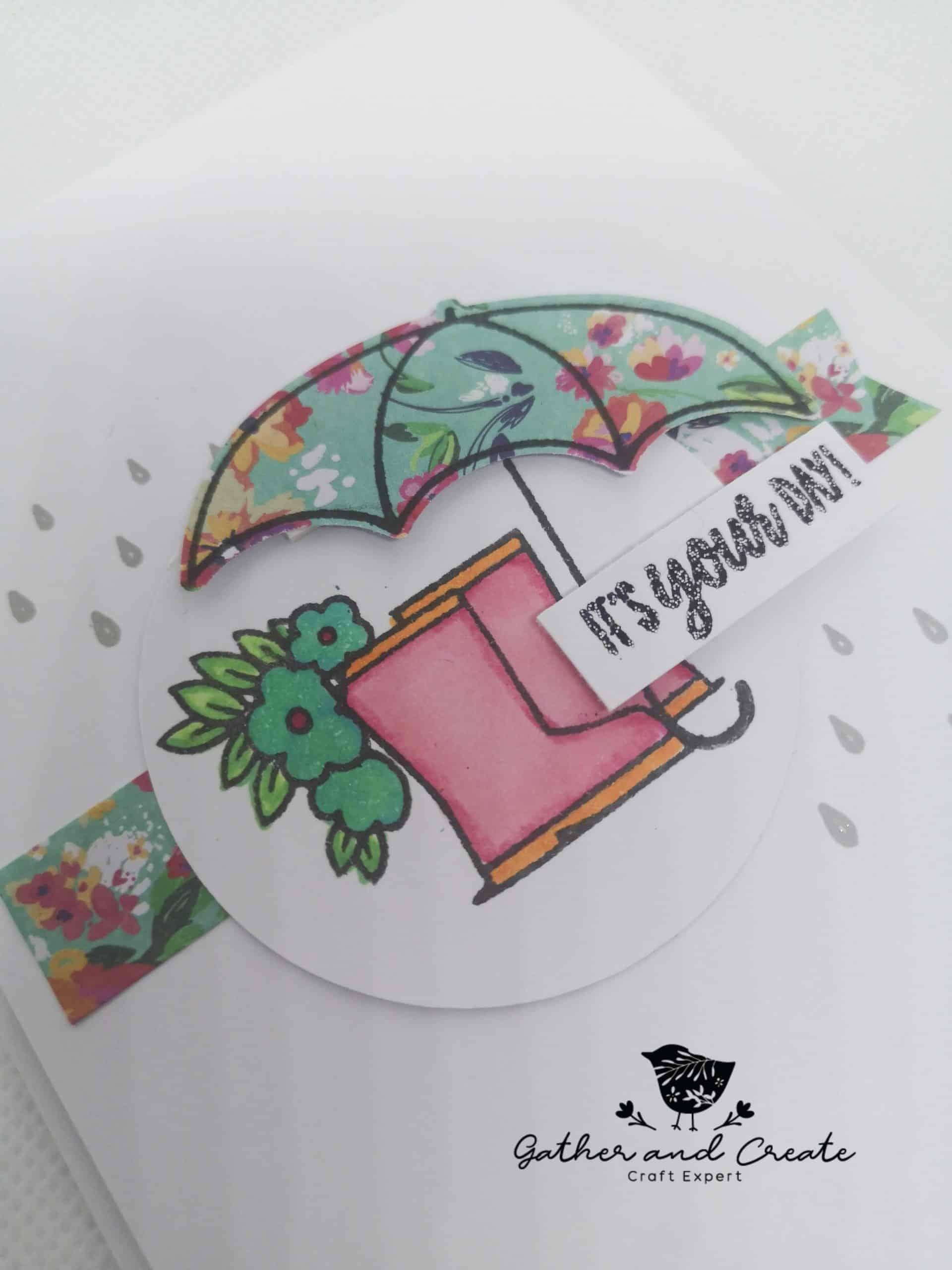 Stampin' Up! Under my umbrella cards