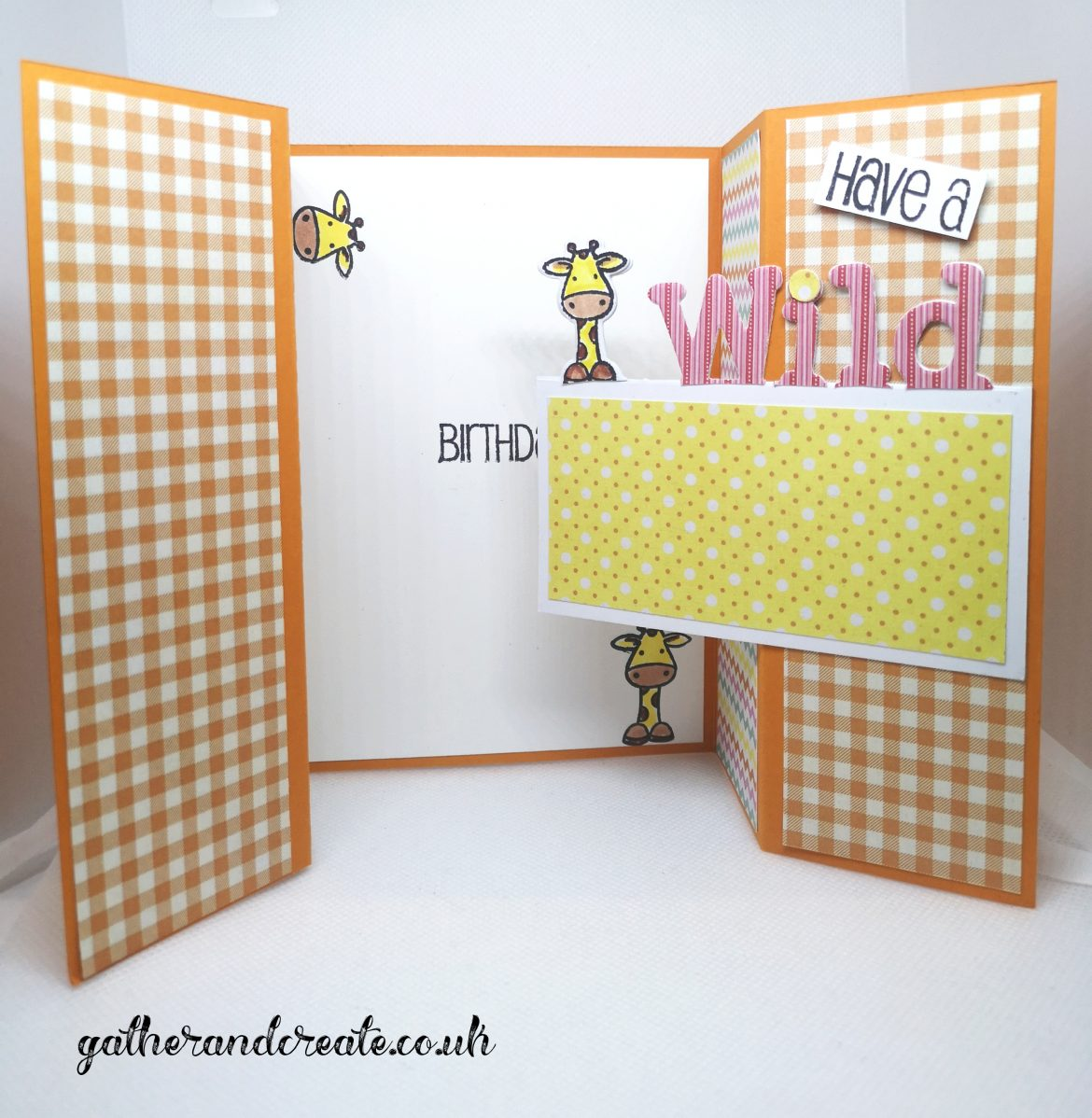 Crafter's Companion Gate Fold Card