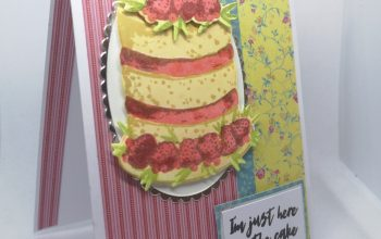 Crafter's Companion Afternoon Tea Birthday Card