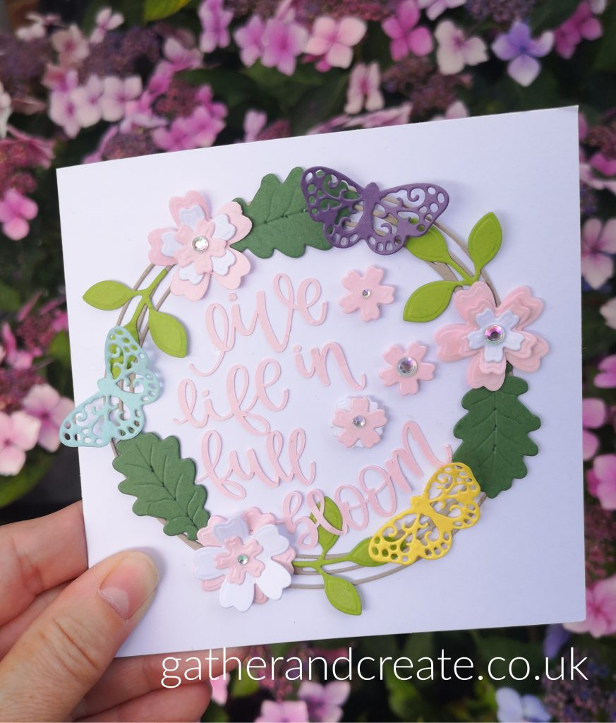 Hot off the press, die-cutting, cricut, Birthday cards, how to make cards, cricut Cards, Cricut Card inspiration, card making techniques, how to make cards, cards with flowers, cards with butterfles
