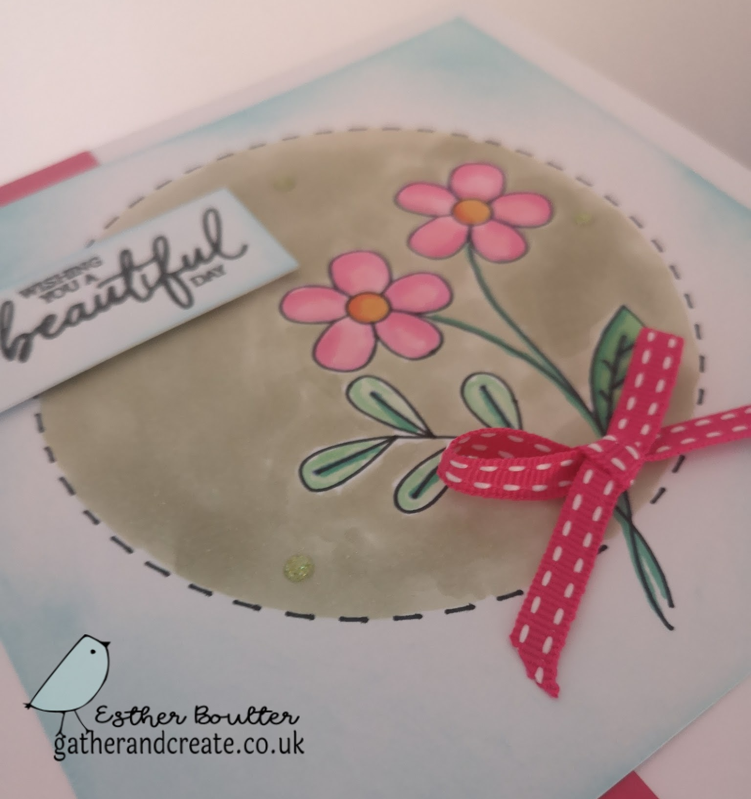 DRAWING WITH THE CRICUT MAKER AND COLOURING WITH NUVO PENS