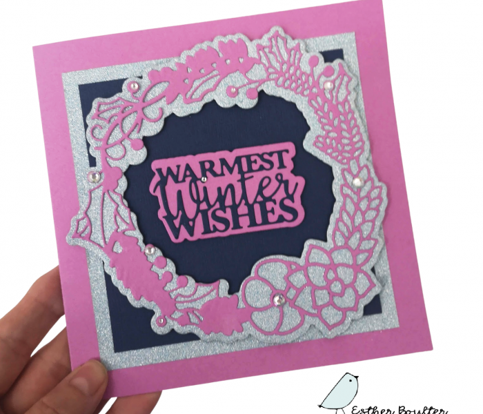 Making awesome Christmas cards is Super Easy with the right dies, and this tutorial!