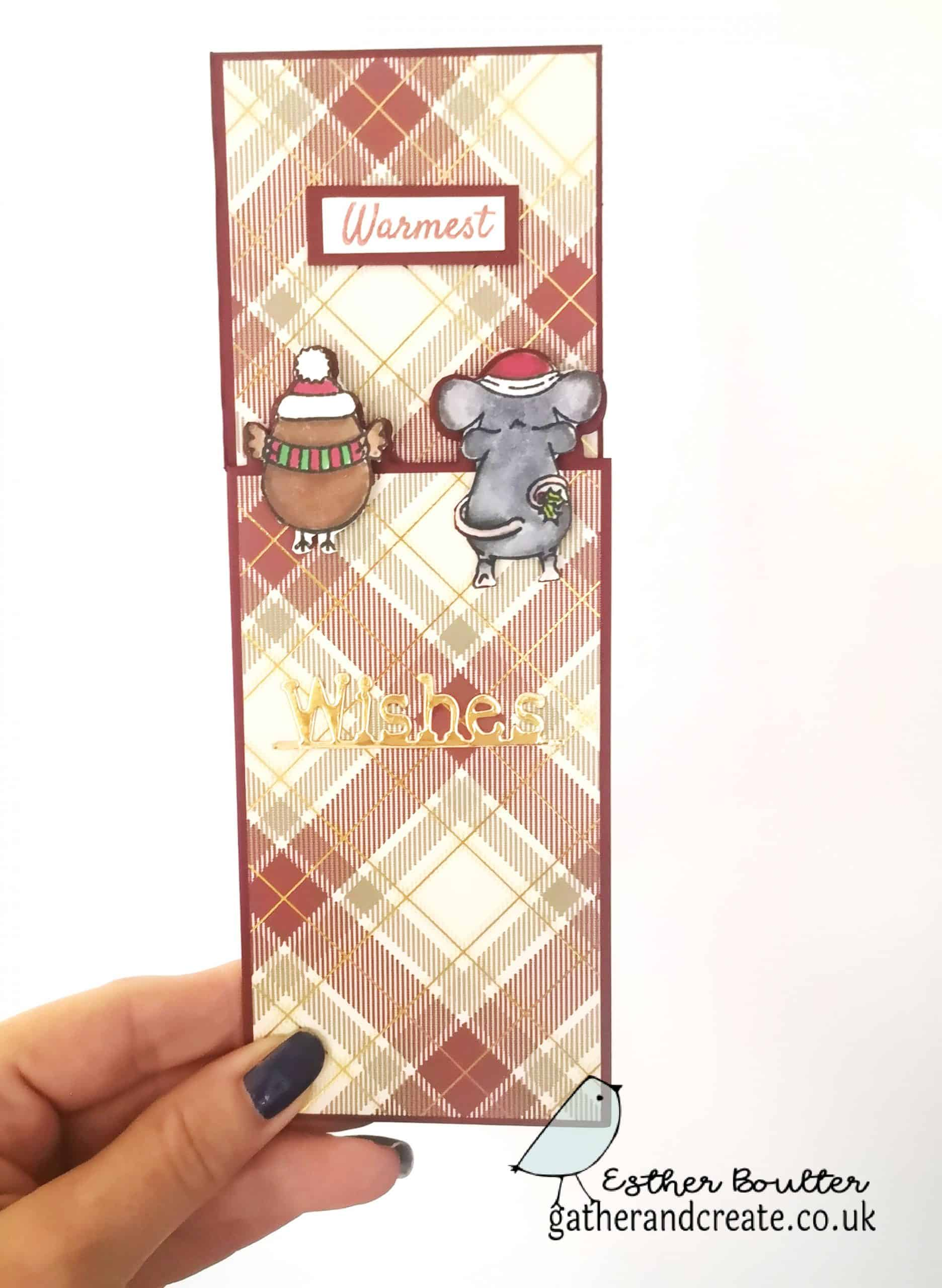 Crafter's Companion Christmas Peek-a-Boo cards tutorial