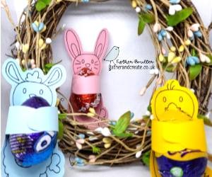 Easter Crafts, Easter Craft with kids, Chocolate treats, Cricut Crafts, Cricut Maker, Cricut Explore air 2. Cricut Design space. SVG's. Easter Candy